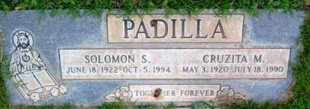 PADILLA, SOLOMON S. - Yavapai County, Arizona | SOLOMON S. PADILLA - Arizona Gravestone Photos
