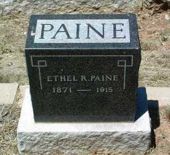 PAINE, ETHEL R. - Yavapai County, Arizona | ETHEL R. PAINE - Arizona Gravestone Photos