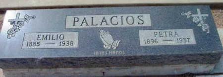 PALACIOS, EMILIO - Yavapai County, Arizona   EMILIO PALACIOS - Arizona Gravestone Photos