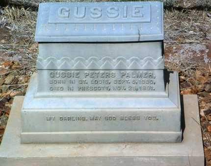 PALMER, GUSSIE PETERS - Yavapai County, Arizona | GUSSIE PETERS PALMER - Arizona Gravestone Photos