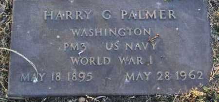PALMER, HARRY G. - Yavapai County, Arizona | HARRY G. PALMER - Arizona Gravestone Photos