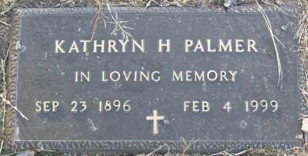 PALMER, KATHRYN H. - Yavapai County, Arizona | KATHRYN H. PALMER - Arizona Gravestone Photos