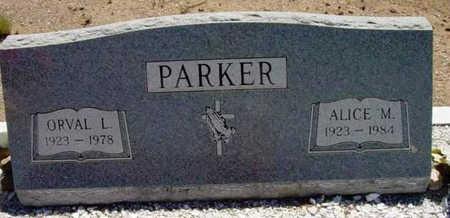 ROWLEY PARKER, ALICE M. - Yavapai County, Arizona | ALICE M. ROWLEY PARKER - Arizona Gravestone Photos