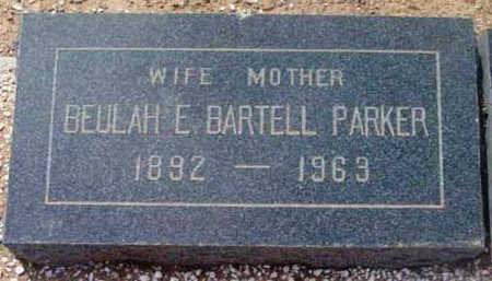 PARKER, BEULAH ESTELLE - Yavapai County, Arizona   BEULAH ESTELLE PARKER - Arizona Gravestone Photos