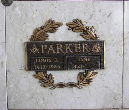 PARKER, SARRAH JANE - Yavapai County, Arizona | SARRAH JANE PARKER - Arizona Gravestone Photos