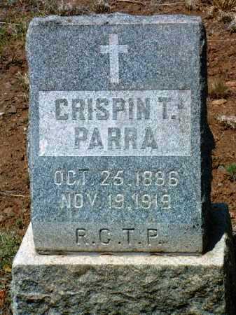 PARRA, CRISPIN T. - Yavapai County, Arizona   CRISPIN T. PARRA - Arizona Gravestone Photos