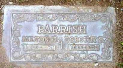 PARRISH, MILTON HOWLAND - Yavapai County, Arizona   MILTON HOWLAND PARRISH - Arizona Gravestone Photos