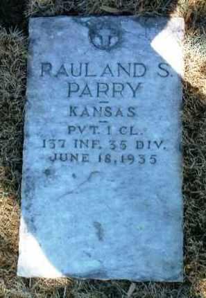 PARRY, RAULAND SEAGER - Yavapai County, Arizona | RAULAND SEAGER PARRY - Arizona Gravestone Photos