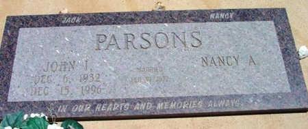 PARSONS, NANCY A. - Yavapai County, Arizona | NANCY A. PARSONS - Arizona Gravestone Photos