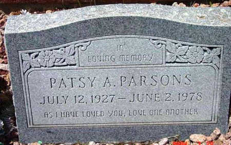 PARSONS, PATSY A. - Yavapai County, Arizona | PATSY A. PARSONS - Arizona Gravestone Photos