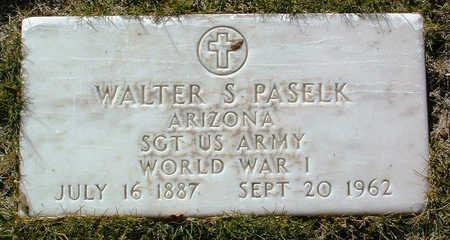 PASELK, WALTER S. - Yavapai County, Arizona   WALTER S. PASELK - Arizona Gravestone Photos