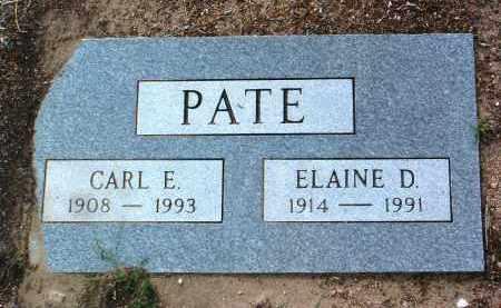 PATE, ELAINE DOROTHY - Yavapai County, Arizona | ELAINE DOROTHY PATE - Arizona Gravestone Photos