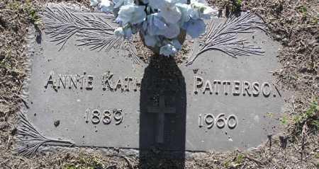 PATTERSON, ANNIE KATHLEEN - Yavapai County, Arizona   ANNIE KATHLEEN PATTERSON - Arizona Gravestone Photos