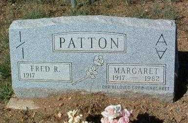 PATTON, FRED RUDYARD - Yavapai County, Arizona | FRED RUDYARD PATTON - Arizona Gravestone Photos
