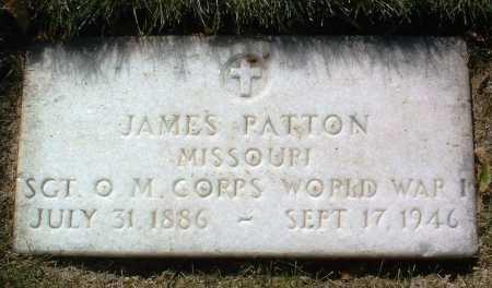PATTON, JAMES - Yavapai County, Arizona | JAMES PATTON - Arizona Gravestone Photos