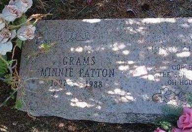RESLEY PATTON, MINNIE E. - Yavapai County, Arizona | MINNIE E. RESLEY PATTON - Arizona Gravestone Photos