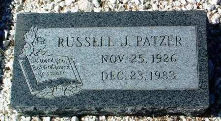 PATZER, RUSSELL JAMES - Yavapai County, Arizona | RUSSELL JAMES PATZER - Arizona Gravestone Photos