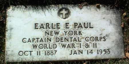 PAUL, EARLE EVARTS - Yavapai County, Arizona | EARLE EVARTS PAUL - Arizona Gravestone Photos
