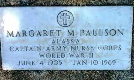 PAULSON, MARGARET M. - Yavapai County, Arizona   MARGARET M. PAULSON - Arizona Gravestone Photos