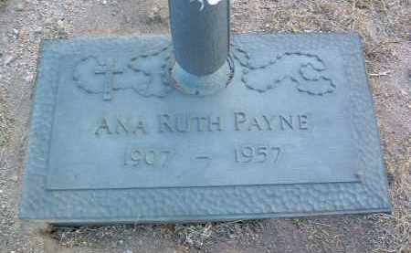 PAYNE, ANA RUTH - Yavapai County, Arizona | ANA RUTH PAYNE - Arizona Gravestone Photos