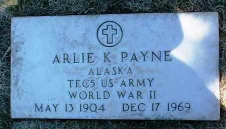 PAYNE, ARLIE KENNETH - Yavapai County, Arizona | ARLIE KENNETH PAYNE - Arizona Gravestone Photos