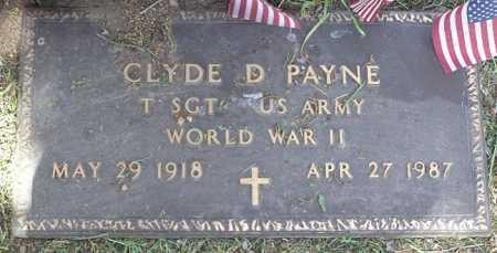 PAYNE, CLYDE DALE - Yavapai County, Arizona | CLYDE DALE PAYNE - Arizona Gravestone Photos