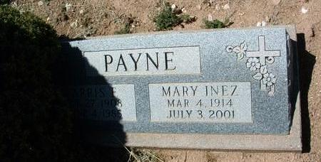 PAYNE, MARY INEZ - Yavapai County, Arizona | MARY INEZ PAYNE - Arizona Gravestone Photos