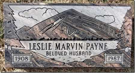 PAYNE, LESLIE MARVIN - Yavapai County, Arizona | LESLIE MARVIN PAYNE - Arizona Gravestone Photos