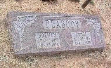 PEABODY, GRACE ELIZABETH - Yavapai County, Arizona | GRACE ELIZABETH PEABODY - Arizona Gravestone Photos