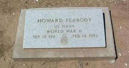 PEABODY, HOWARD - Yavapai County, Arizona | HOWARD PEABODY - Arizona Gravestone Photos