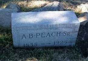 PEACH, ALFRED BRYAN, SR. - Yavapai County, Arizona | ALFRED BRYAN, SR. PEACH - Arizona Gravestone Photos