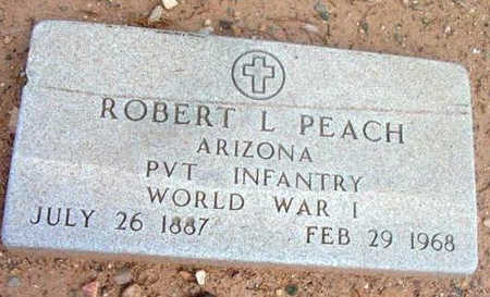 PEACH, ROBERT LEE - Yavapai County, Arizona | ROBERT LEE PEACH - Arizona Gravestone Photos
