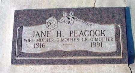 PEACOCK, JANE HARRIET - Yavapai County, Arizona | JANE HARRIET PEACOCK - Arizona Gravestone Photos