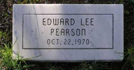 PEARSON, EDWARD LEE - Yavapai County, Arizona | EDWARD LEE PEARSON - Arizona Gravestone Photos