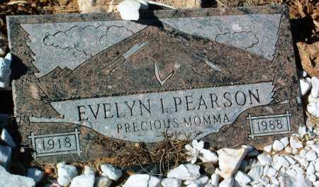 PEARSON, EVELYN I. - Yavapai County, Arizona | EVELYN I. PEARSON - Arizona Gravestone Photos
