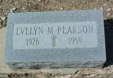 PEARSON, EVELYN MAE - Yavapai County, Arizona | EVELYN MAE PEARSON - Arizona Gravestone Photos