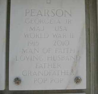 PEARSON, GEORGE ALLEN, JR. - Yavapai County, Arizona | GEORGE ALLEN, JR. PEARSON - Arizona Gravestone Photos