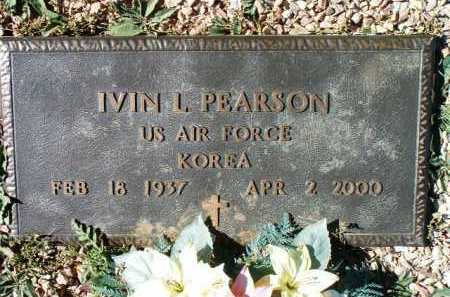 PEARSON, IVIN LEROY - Yavapai County, Arizona | IVIN LEROY PEARSON - Arizona Gravestone Photos