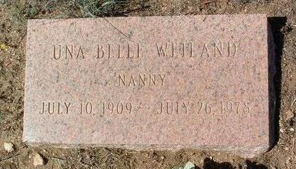 PEASANT WEILAND, UNA BELLE - Yavapai County, Arizona   UNA BELLE PEASANT WEILAND - Arizona Gravestone Photos