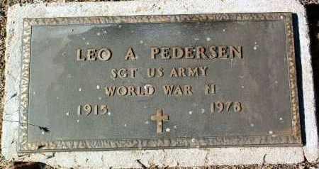 PEDERSEN, LEO ALFRED - Yavapai County, Arizona | LEO ALFRED PEDERSEN - Arizona Gravestone Photos
