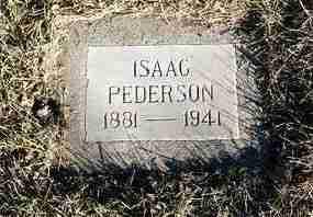 PEDERSON, ISAAC RICHARD (DICK) - Yavapai County, Arizona | ISAAC RICHARD (DICK) PEDERSON - Arizona Gravestone Photos