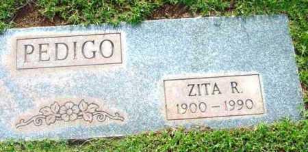 PIZEL PEDIGO, ZITA RITA - Yavapai County, Arizona | ZITA RITA PIZEL PEDIGO - Arizona Gravestone Photos