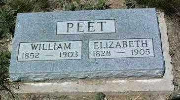 PEET, WILLIAM - Yavapai County, Arizona   WILLIAM PEET - Arizona Gravestone Photos