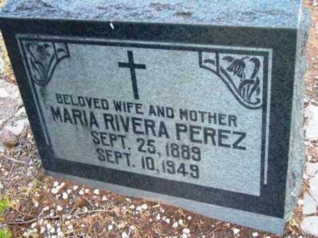 PEREZ, MARIA RIVERA - Yavapai County, Arizona | MARIA RIVERA PEREZ - Arizona Gravestone Photos
