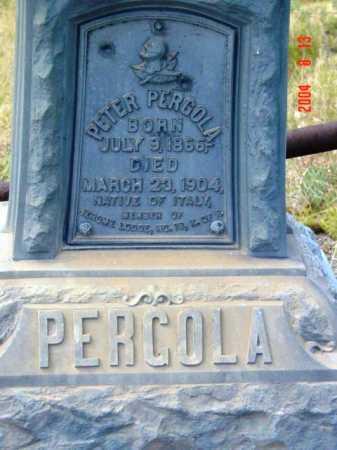 PERGOLA, PETER - Yavapai County, Arizona | PETER PERGOLA - Arizona Gravestone Photos