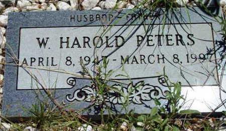 PETERS, WALTER HAROLD - Yavapai County, Arizona | WALTER HAROLD PETERS - Arizona Gravestone Photos