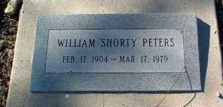 PETERS, WILLIAM  (SHORTY) - Yavapai County, Arizona | WILLIAM  (SHORTY) PETERS - Arizona Gravestone Photos