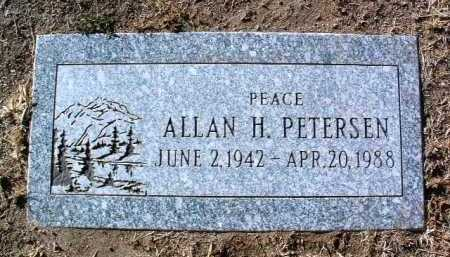PETERSEN, ALLAN H. - Yavapai County, Arizona | ALLAN H. PETERSEN - Arizona Gravestone Photos