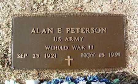 PETERSON, ALAN ELLSWORTH - Yavapai County, Arizona | ALAN ELLSWORTH PETERSON - Arizona Gravestone Photos