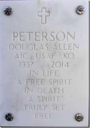 PETERSON, DOUGLAS A. - Yavapai County, Arizona   DOUGLAS A. PETERSON - Arizona Gravestone Photos